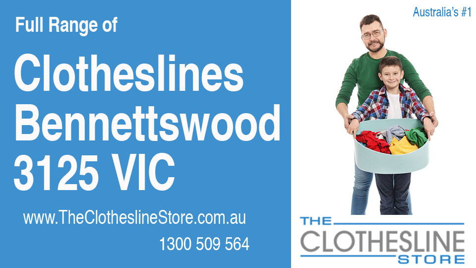 New Clotheslines in Bennettswood Victoria 3125