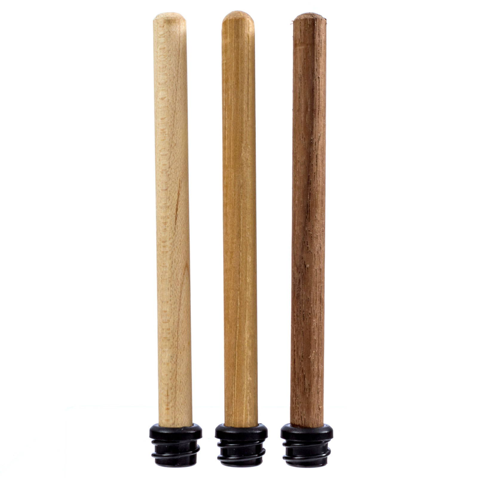Three Dowels Maple Hickory Black Walnut