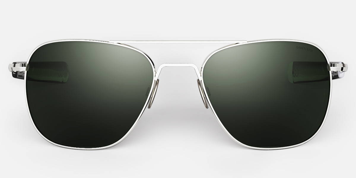 23k White Gold Aviators