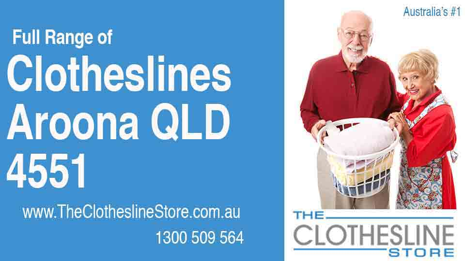 New Clotheslines in Aroona Queensland 4551