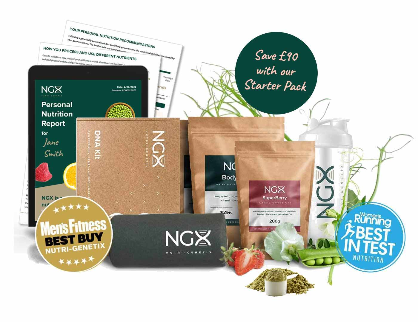 NGX 2 week starter pack with nutritional report