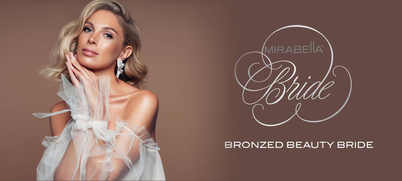 Mirabella Beauty Bronzed Beauty Bridal Look