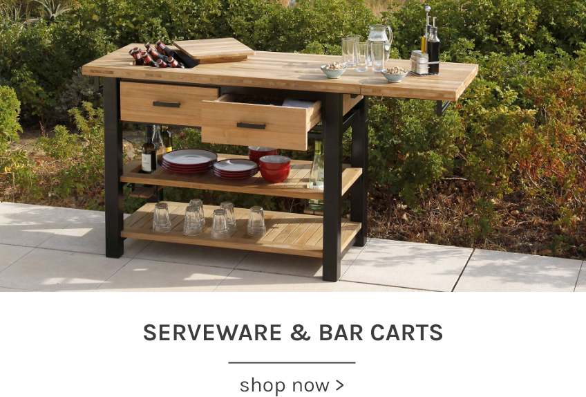 Serveware & Bar Carts