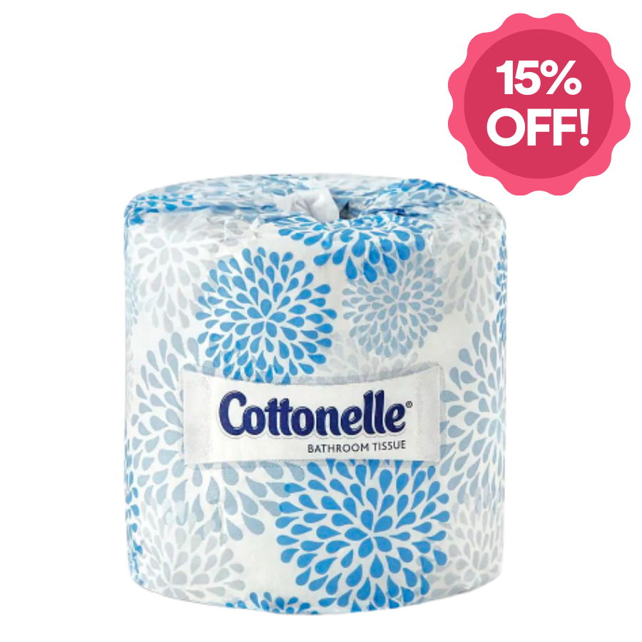 Save 15% on all Toilet Paper