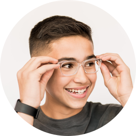 Blue Light glasses for teen boys