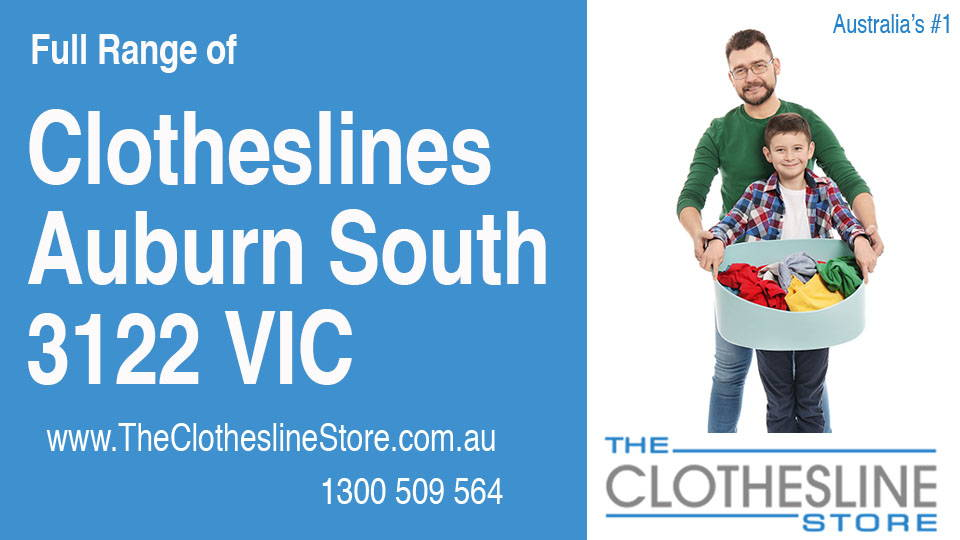 New Clotheslines in Auburn South Victoria 3122