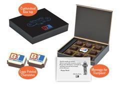 Diwali gift items for employees (9 Chocolates - 100 Box)