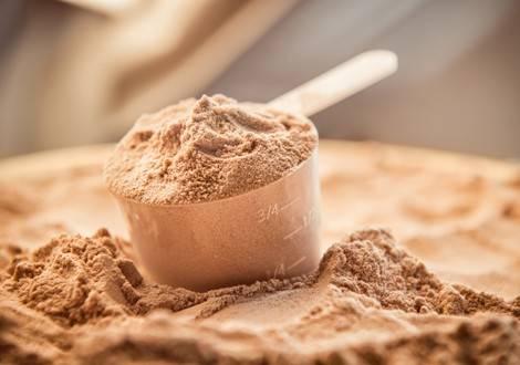 Proteinpulver für Muskelaufbau und zum Abnehmen