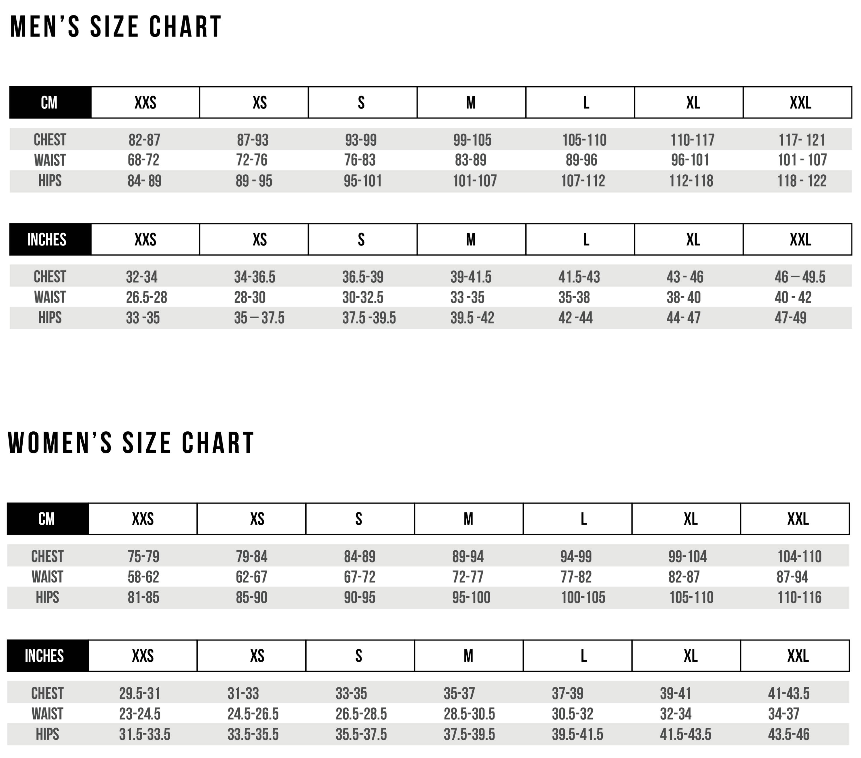 Pedal Mafia Size Guide