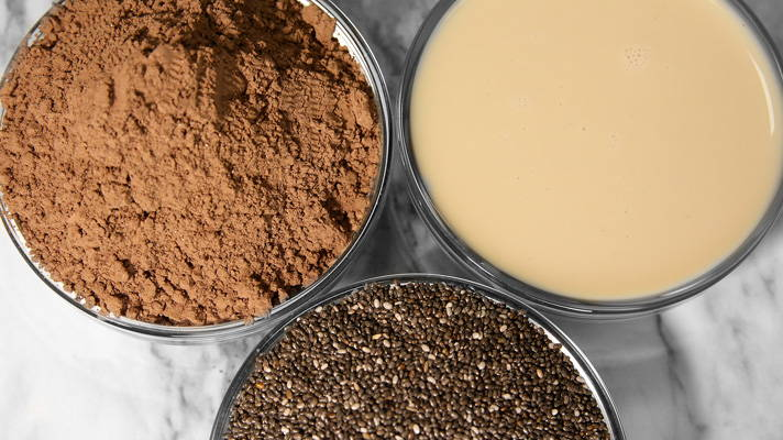 Chocamine Chia Seed Ingredients