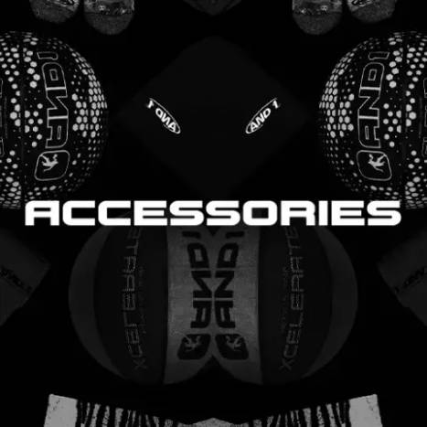 AND1 Accessories: Basketballs, Mini Basketballs, Pumps, Nets, Beanies, Hats, Socks, and more