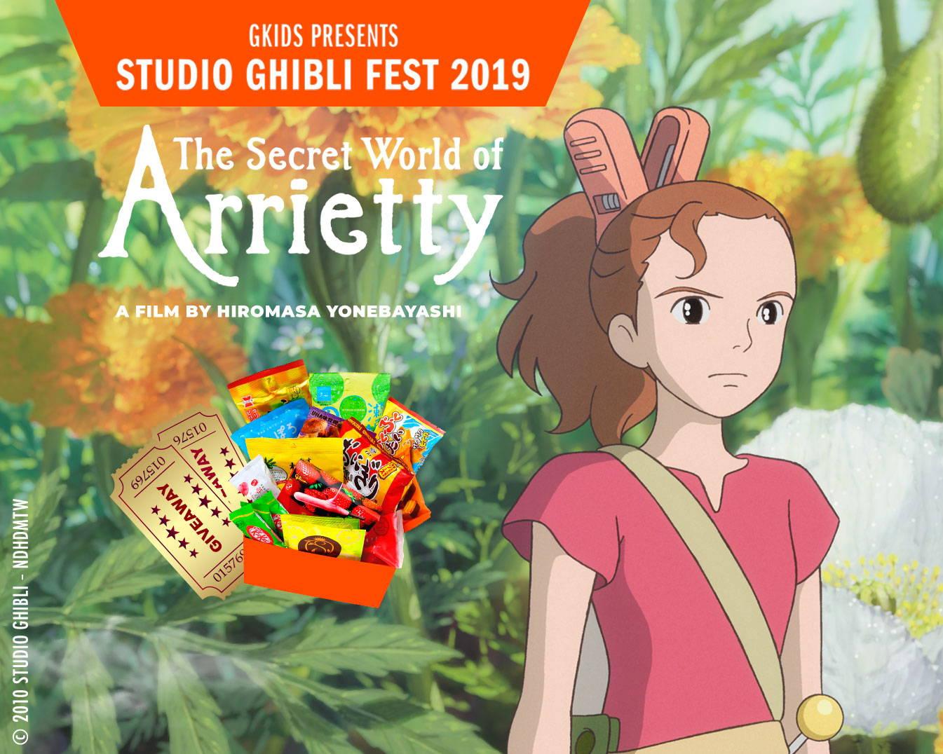 Studio Ghibli Giveaway Arietty