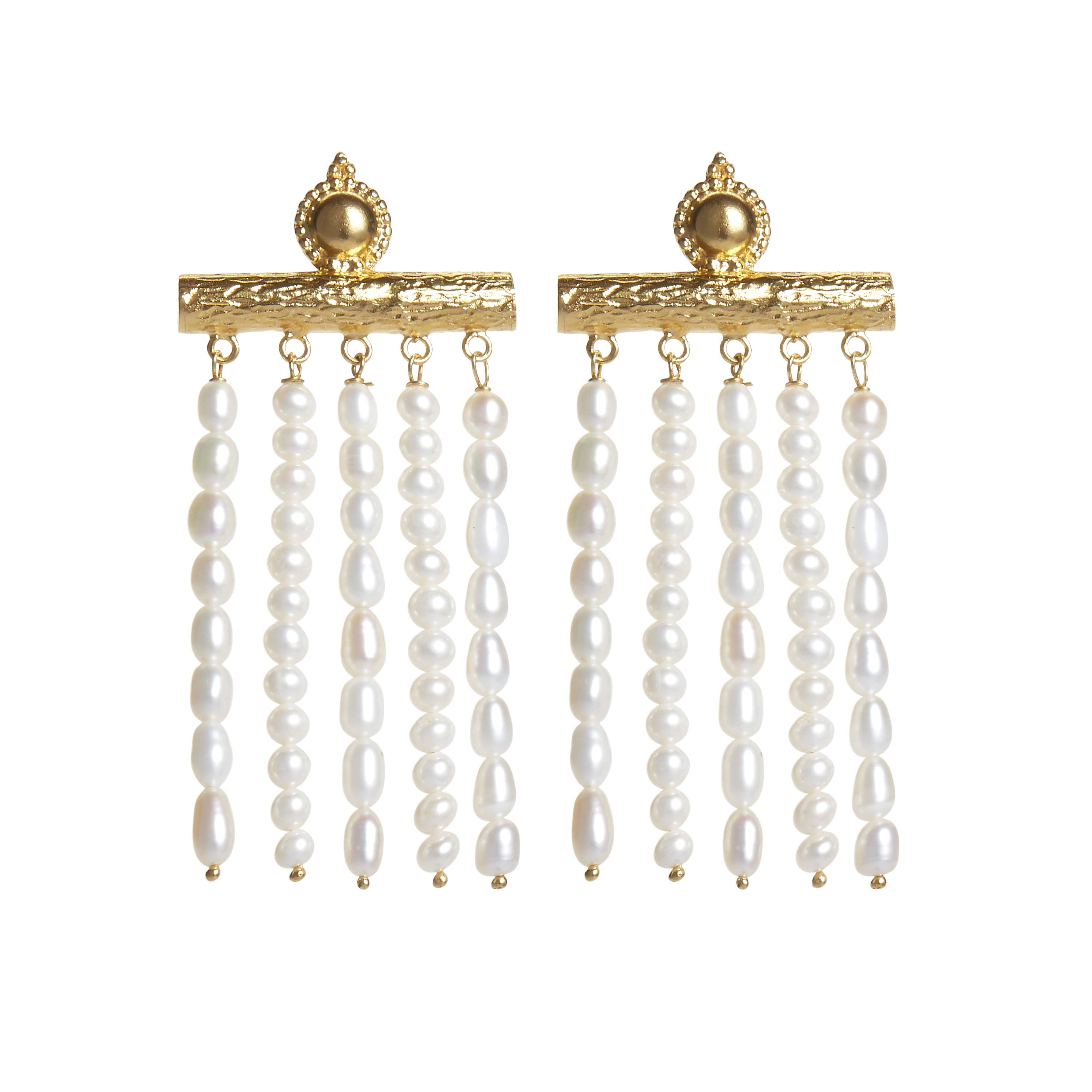 SORU jewellery juno earrings, soru on Stella front cover, soru pearl earrings