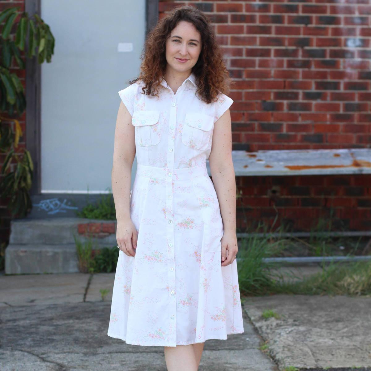 Matilda Dress from an Old sheet