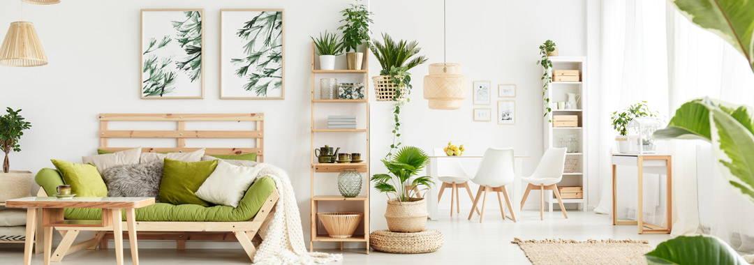 Logra un hogar fresco y natural con el estilo botánico