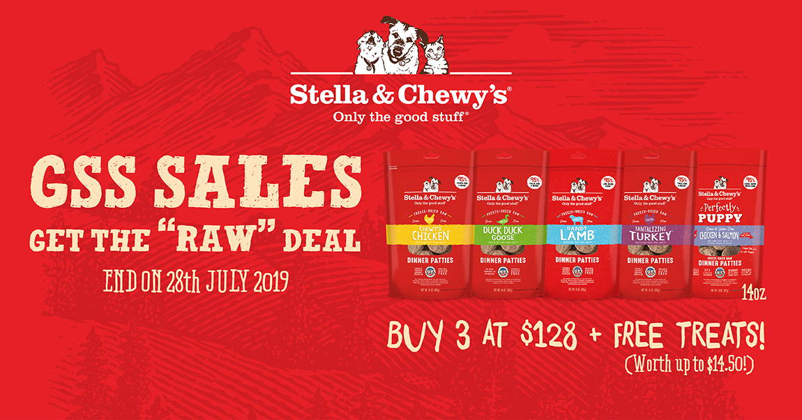 Stella and Chewy's promotion banner 1