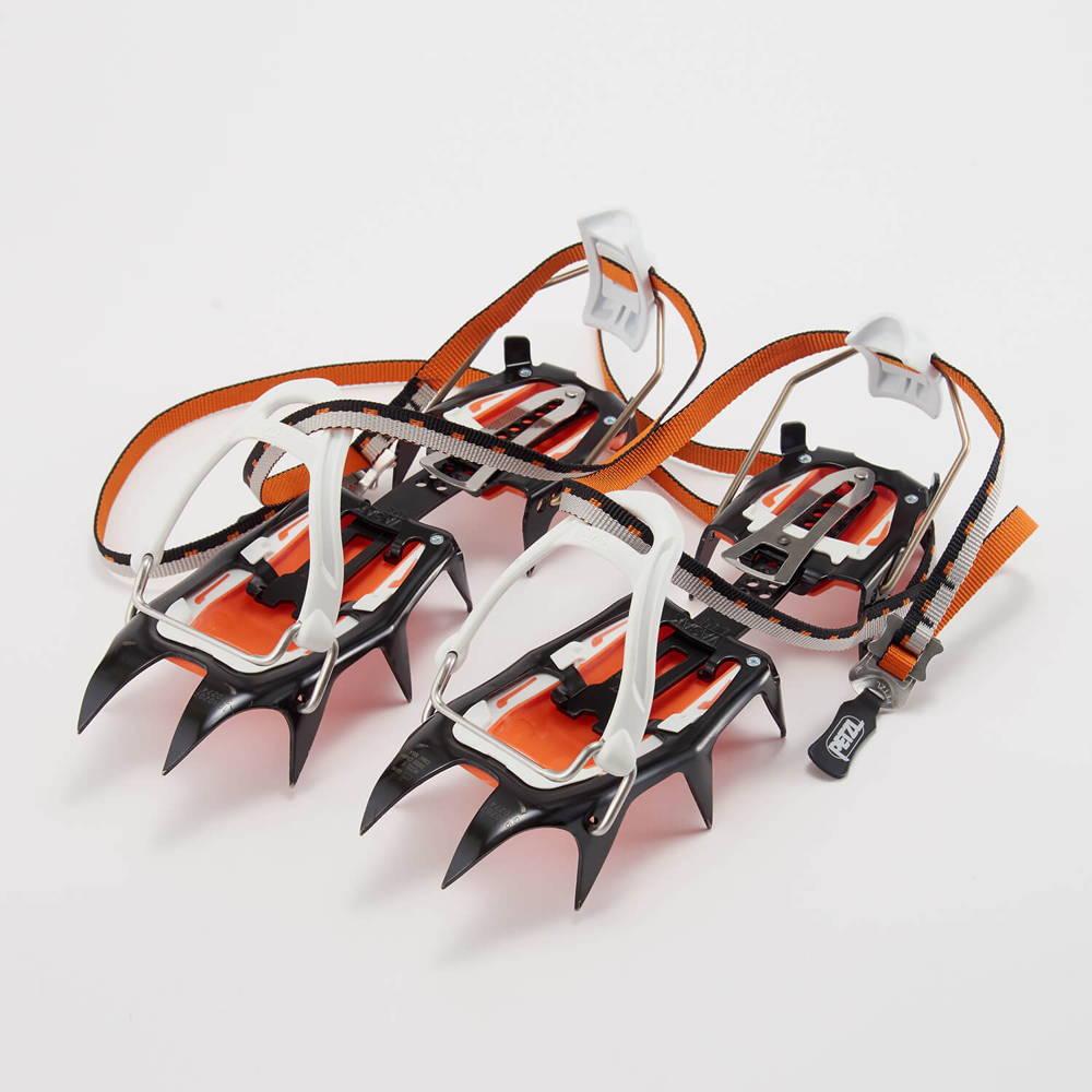 PETZL(ペツル)/バサック LLU/ブラック×オレンジ