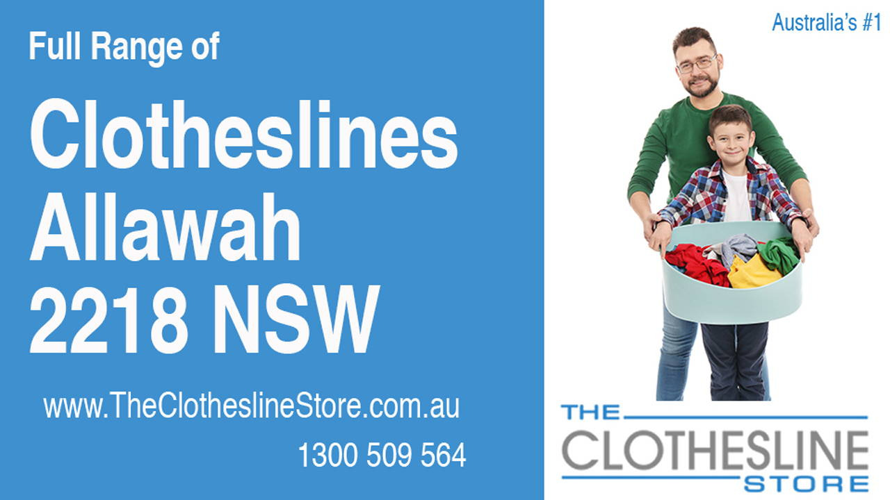 Clotheslines Allawah 2218 NSW