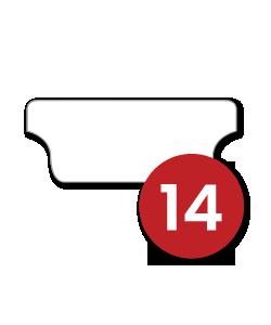 14 Tabs/Set