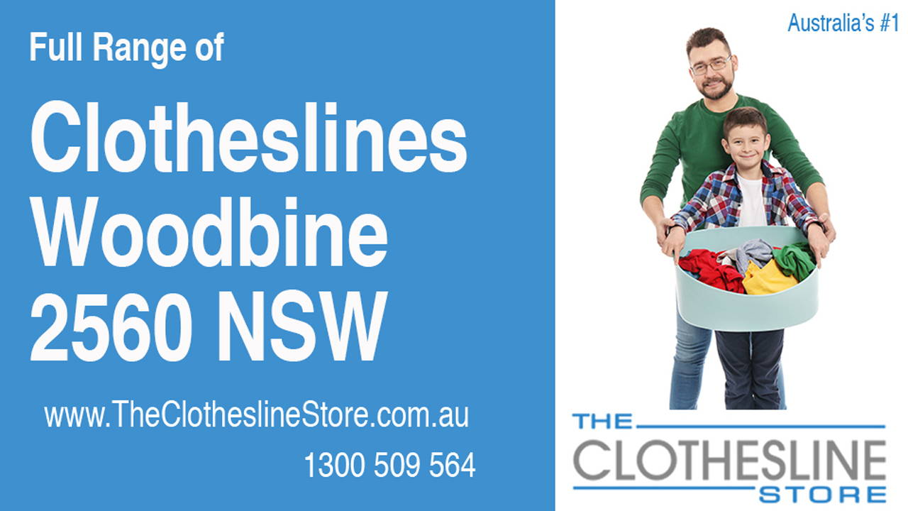 New Clotheslines in Woodbine 2560 NSW
