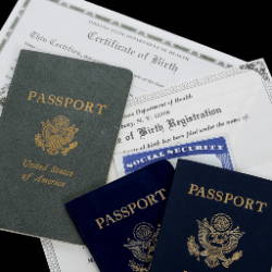 Valuables papers, passports, in your safe