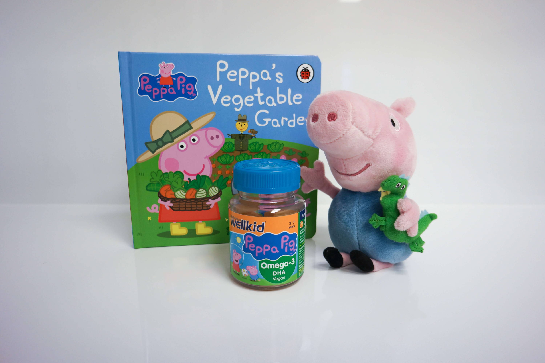 Wellkid Peppa Pig Book, Teddy & Omega-3 Gummies