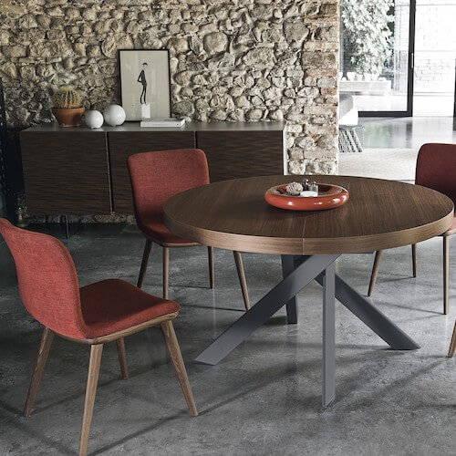 Calligaris Tivoli Round Extending Table