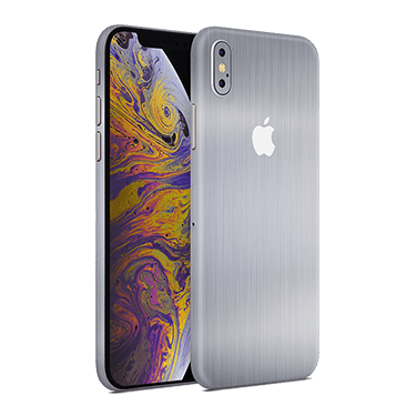 iphone xs max brushed steel