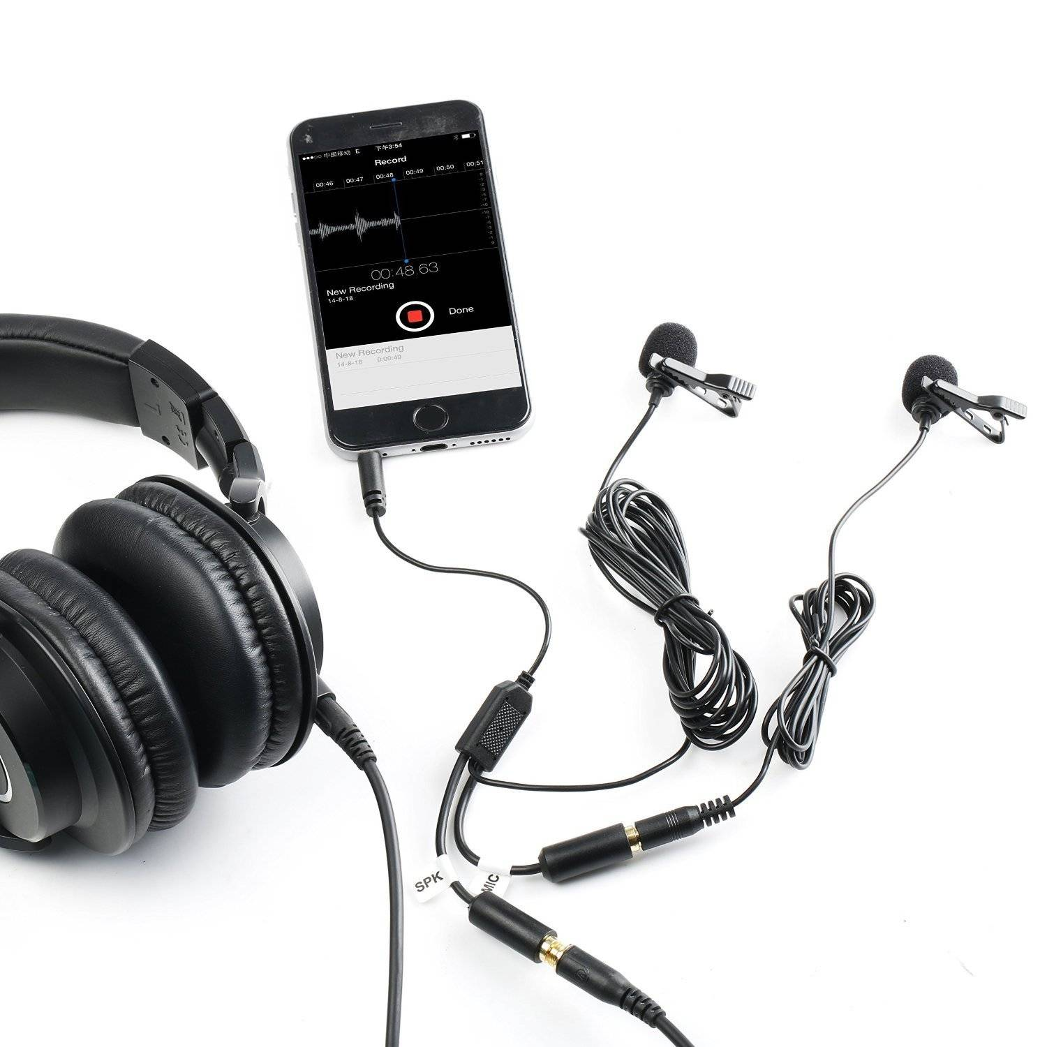 Movo PM20-S Dual Lavalier Microphone