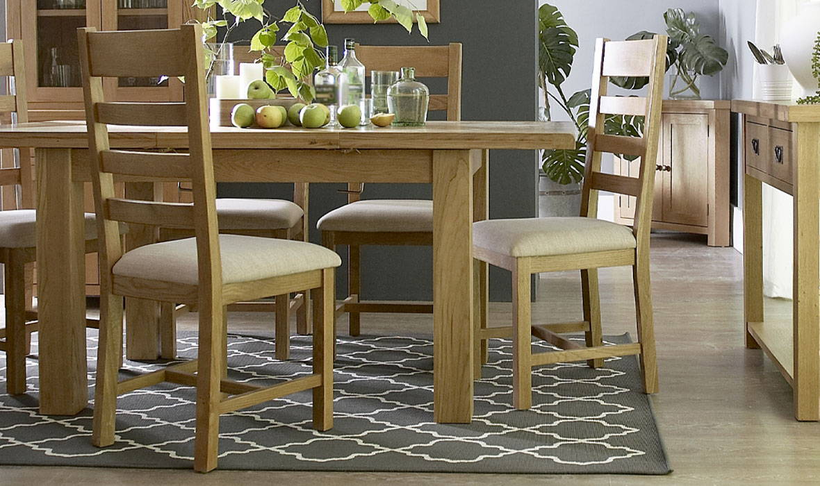 The Carbrooke Oak Dining Collection