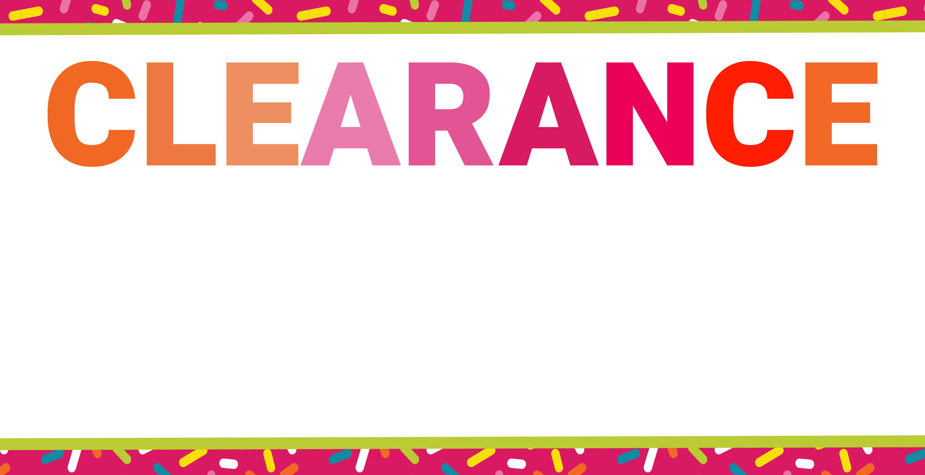 Teaching supplies and classroom decorations clearance