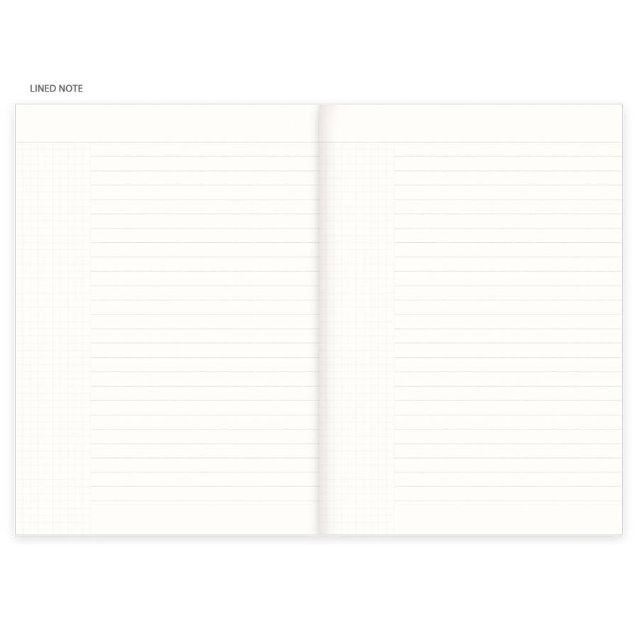 Free note - Eedendesign 2020 Month and note dated monthly diary planner
