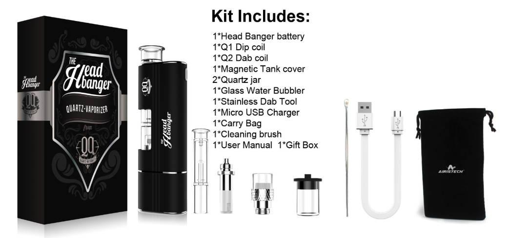 headbanger vaporizer contents