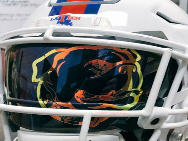 football visor sticker