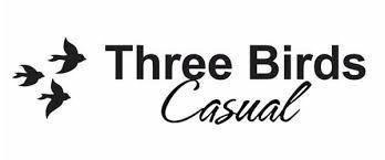Three Birds casual logo