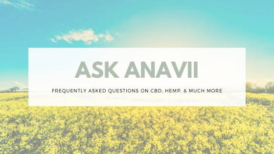 FAQ at Anavii Market