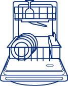 GE Appliances Dishwasher Open