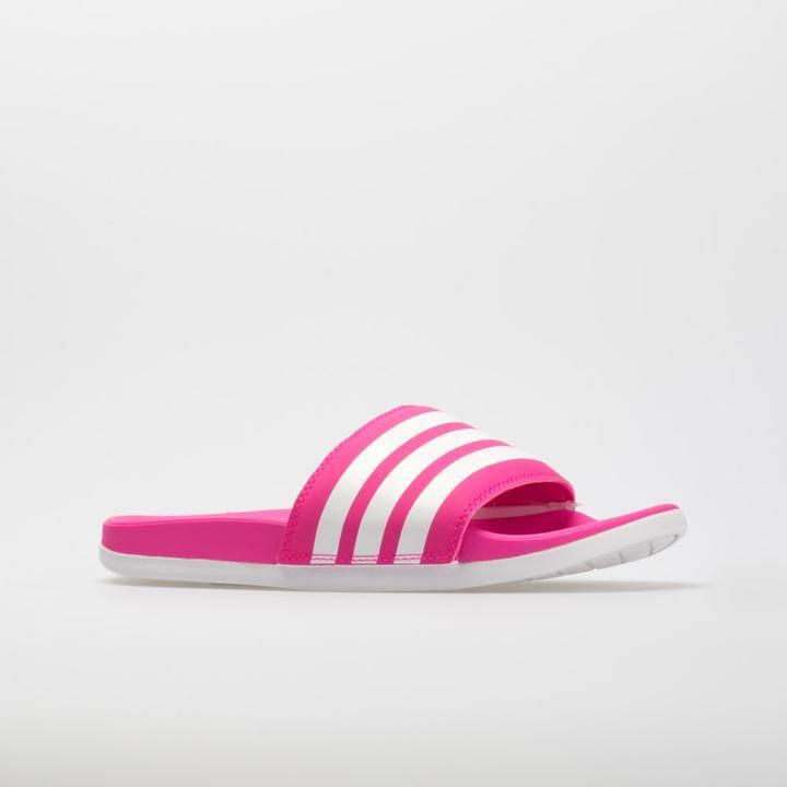 adidas adilette Comfort Women's Shock Pink/White