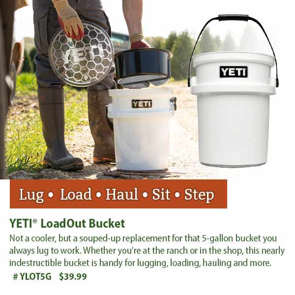 YETI LoadOut Bucket: $39.99