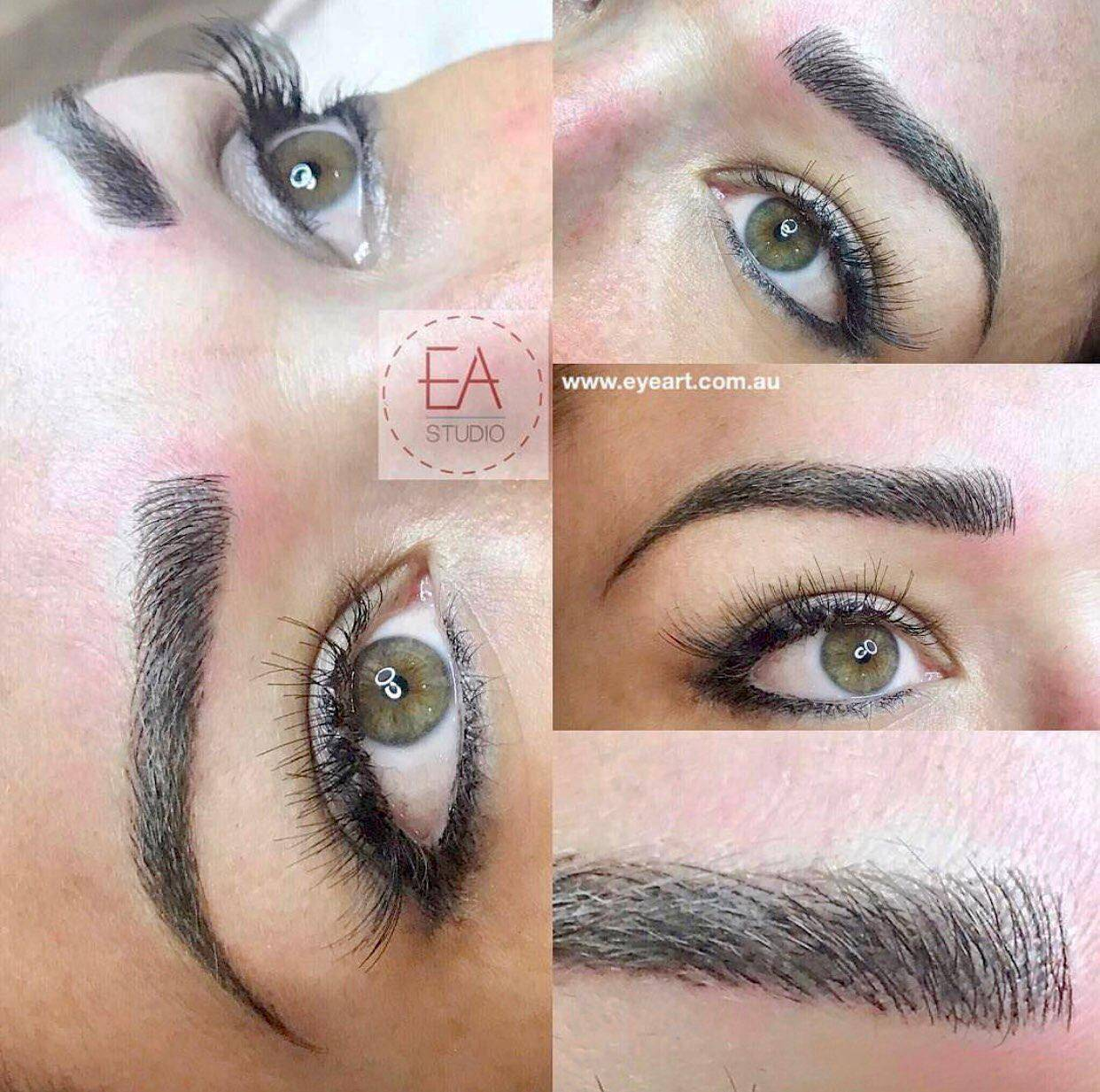 Healed Eyebrow Feathering Tattoo Photos, Prices and Reviews