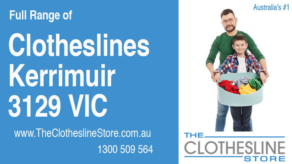 New Clotheslines in Kerrimuir Victoria 3129