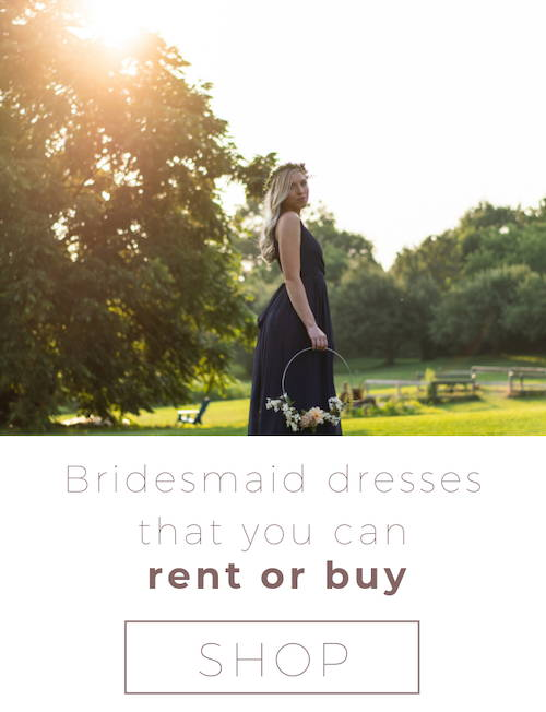 bridesmaid dresses online rent or buy canada