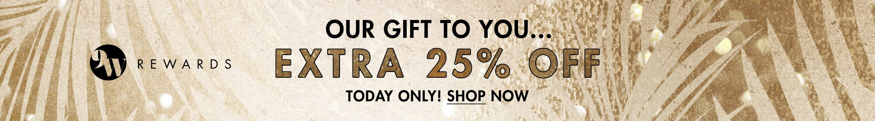 Extra 25% Off