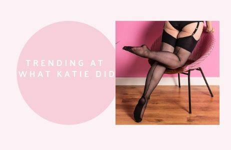 vintage lingerie, corsets and seamed stockings inspired by the 1950s