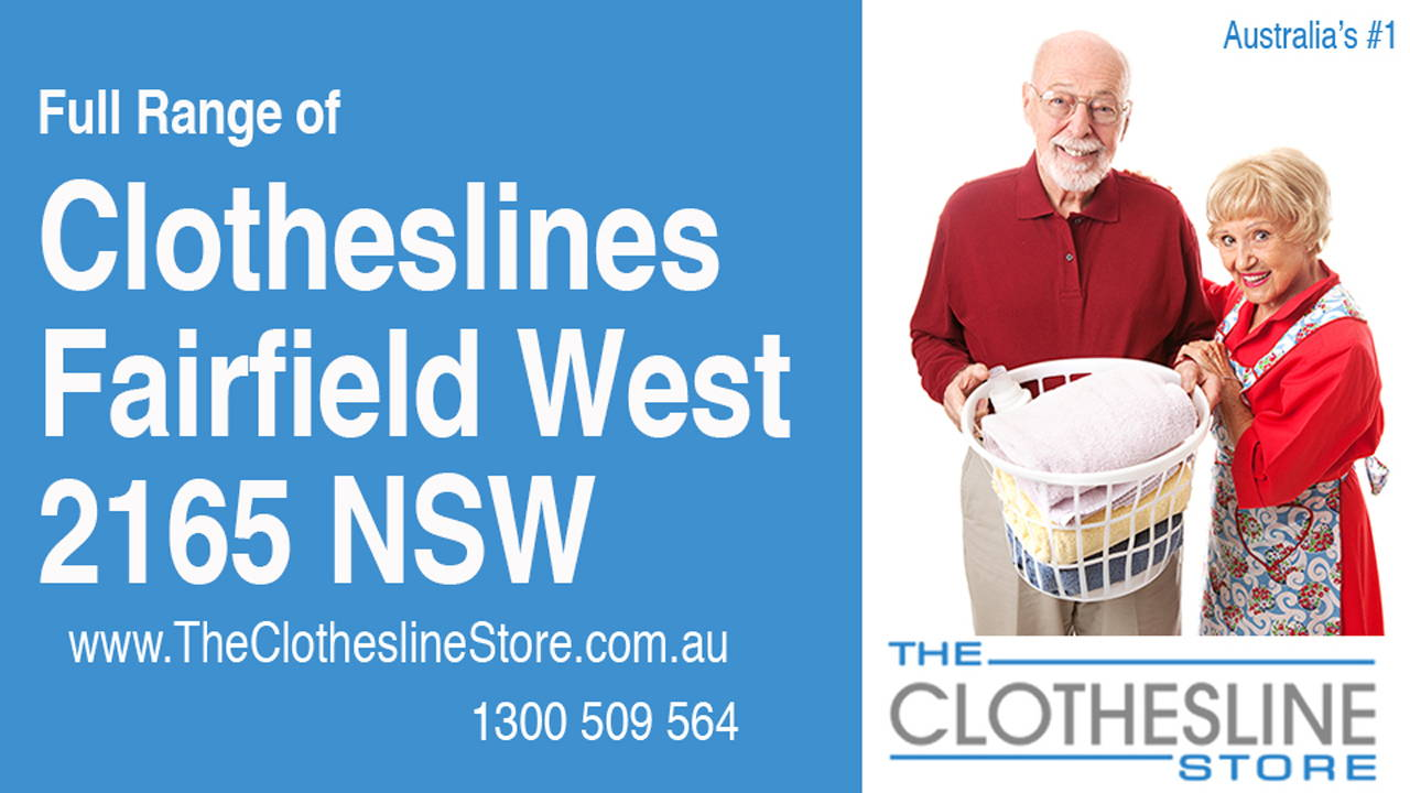 Clotheslines Fairfield West 2165 NSW