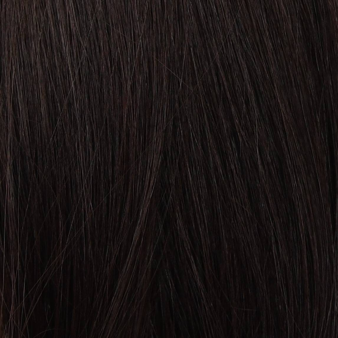 brunette hair extensions color sample in hair color chart