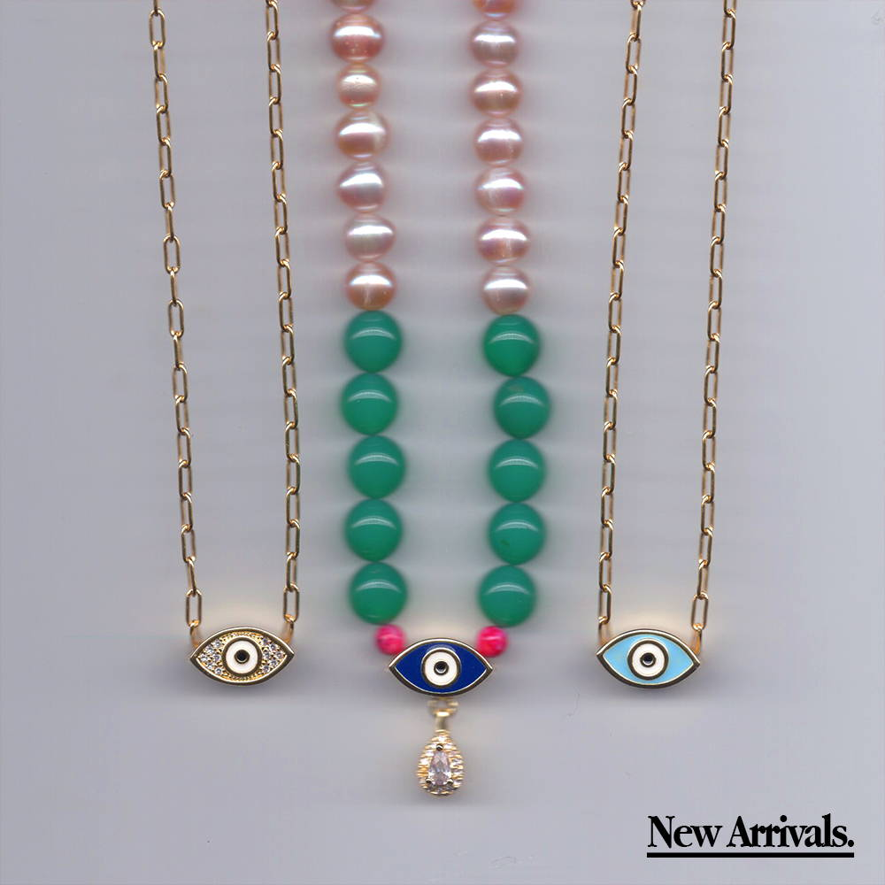 View all evil eye jewelry and new arrivals.