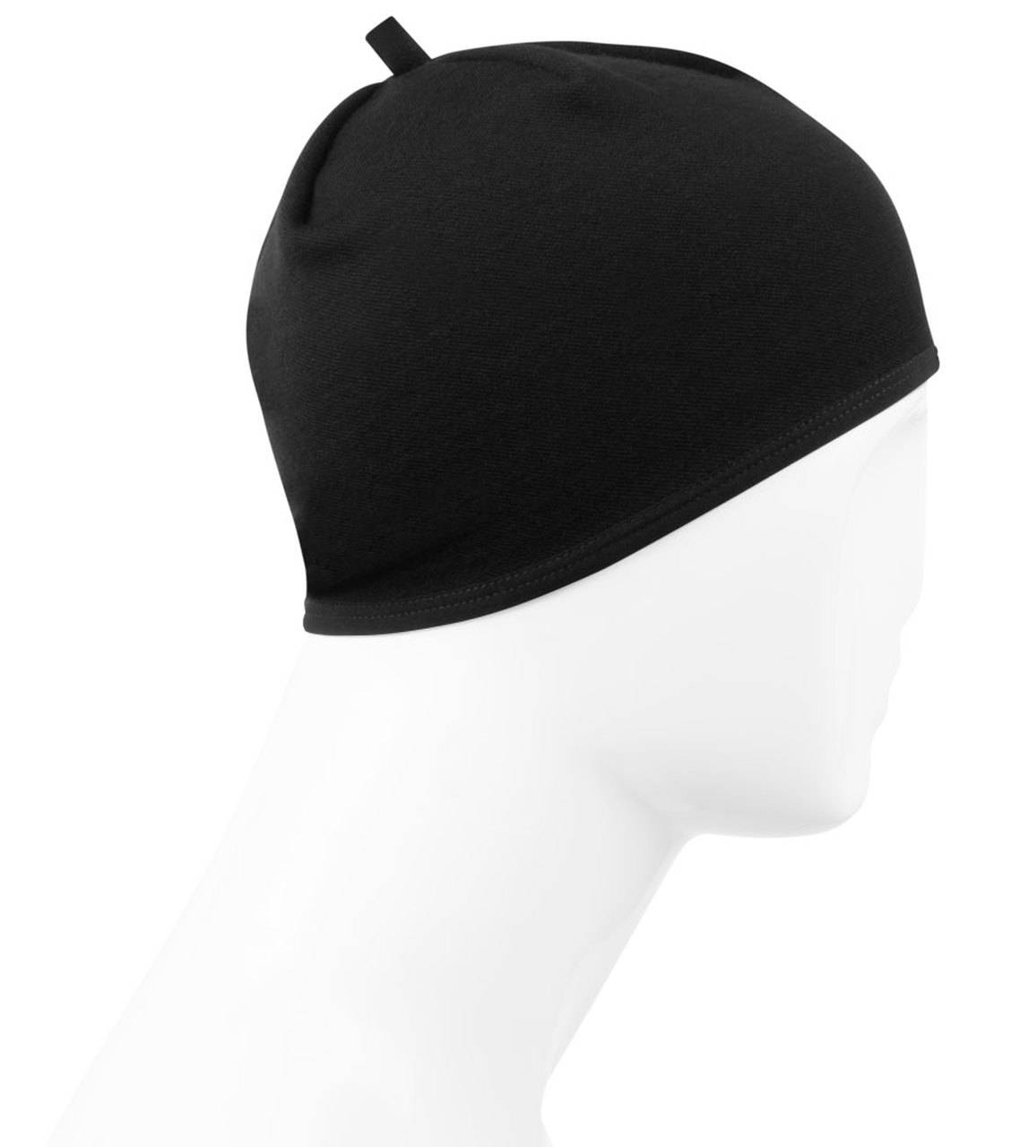 merino wool skull cap side view