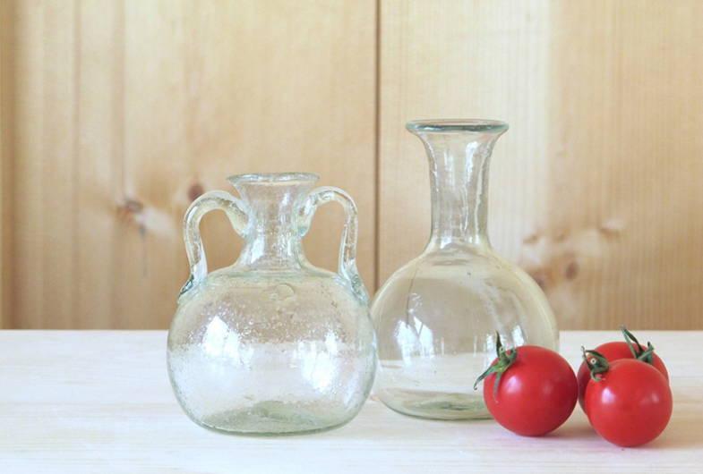 Bagno 2 Anses Glass Vase by La Soufflerie