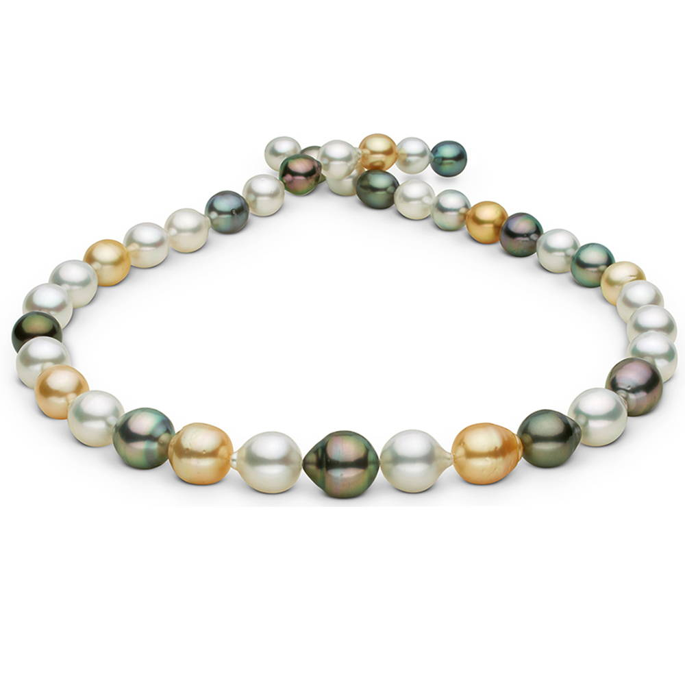 Shop Multi-Color Tahitian Pearl Necklaces